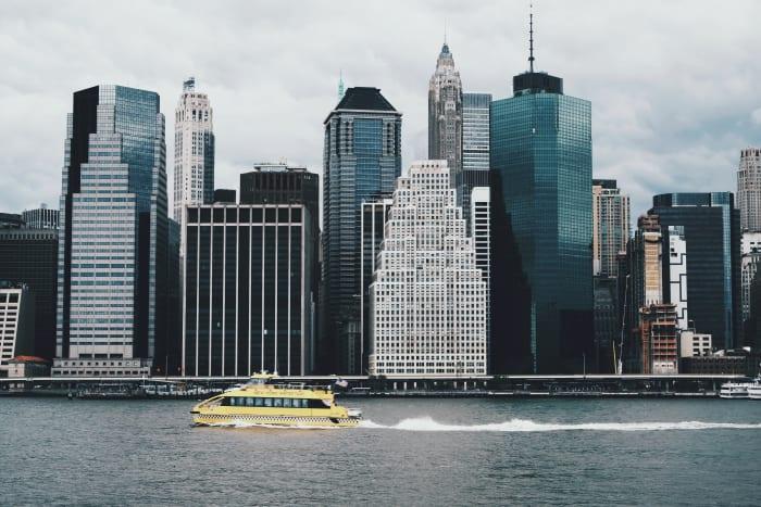 Vista de Manhattan desde el agua