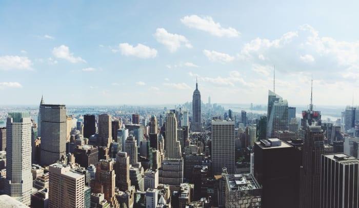 Vista aérea Rockefeller Plaza