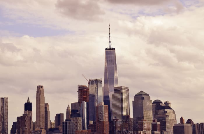 Vista aérea New York