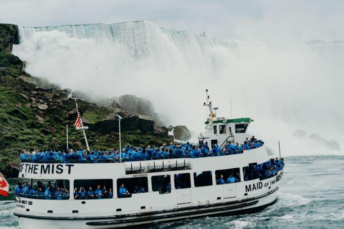 Excursión por las cataratas del Niagara