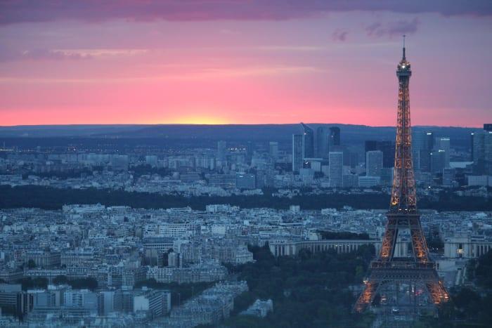 Vistas desde el Tour Montparnasse