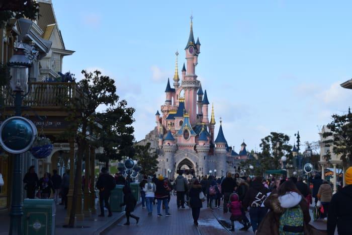 Paseo principal Disneyland Paris