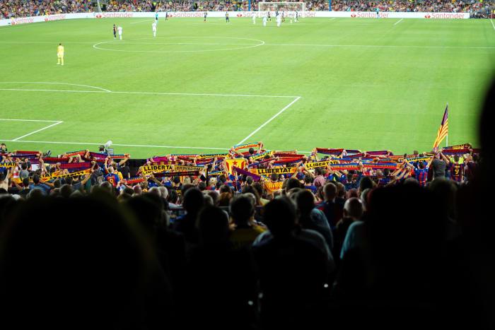 Jour de match au Camp Nou