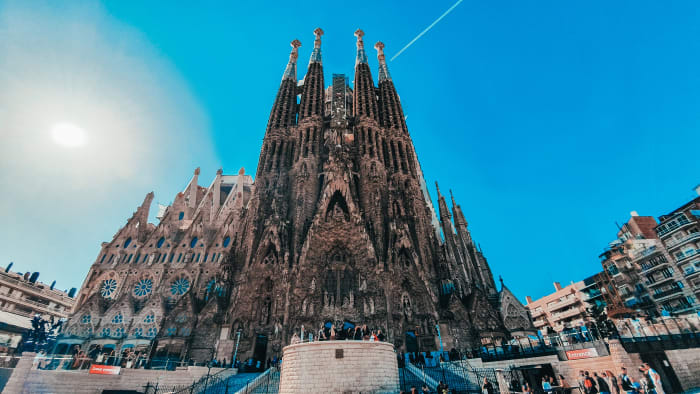 Grande angular da Sagrada Família