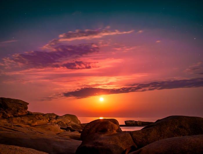 Couchers de soleil sur la Costa Brava