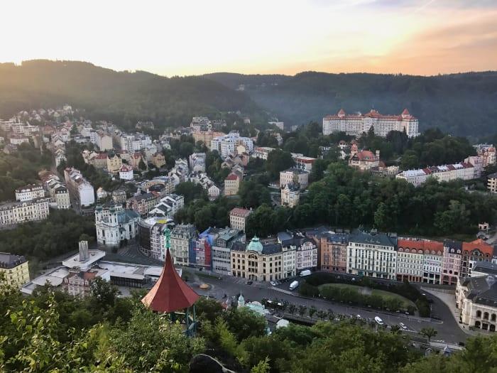 Cidade vista do mirante