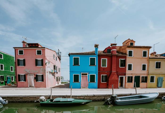 Maisons colorées à Burano
