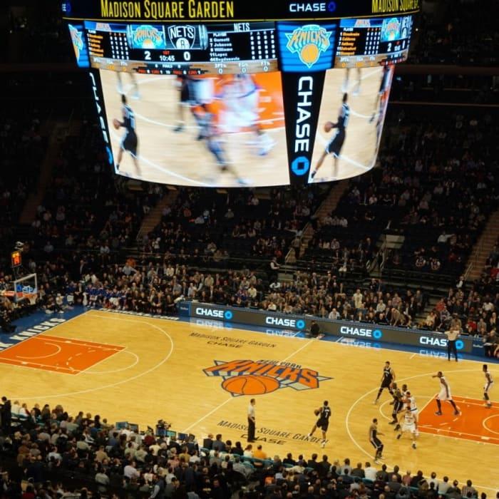 Os Knicks no Madison Square Garden | ©Carmen Navarro