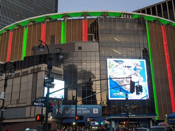 Exterior Madison Square Garden