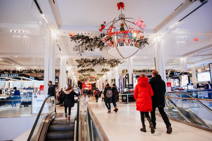 De compras en Macy's | ©Malvina Battiston
