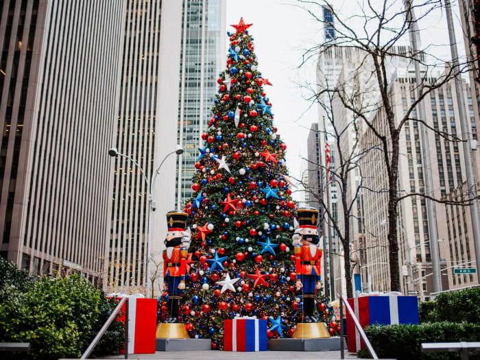 Decoração natalina em Manhattan | ©Malvina Battiston