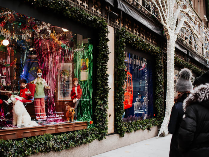 Vitrines de Natal em Nova York | ©Malvina Battiston