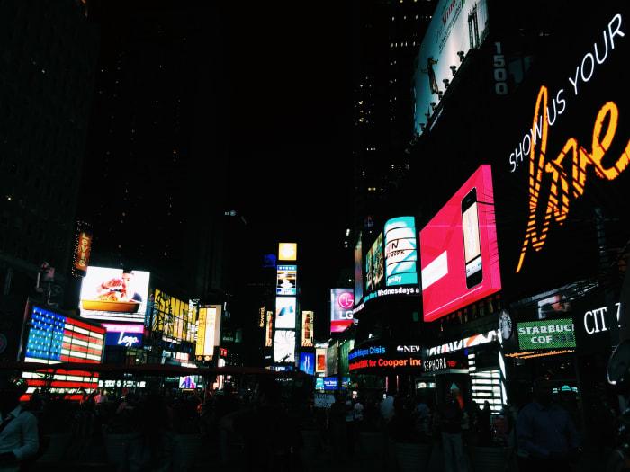 Times Square | ©Malvina Battiston