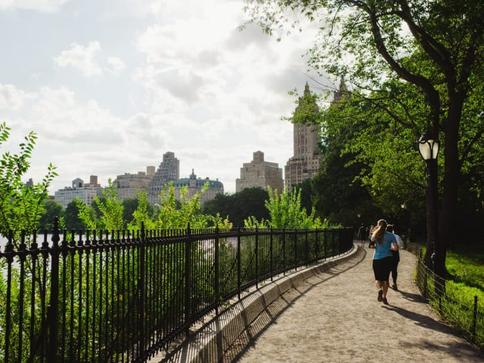 Corriendo por Central Park | ©Malvina Battiston