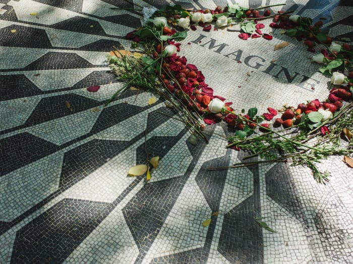 Homenaje a John Lennon en Central Park | ©Malvina Battiston