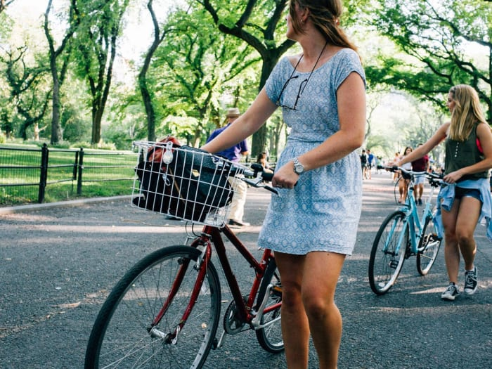 Paseo en bici por Central Park | ©Malvina Battiston