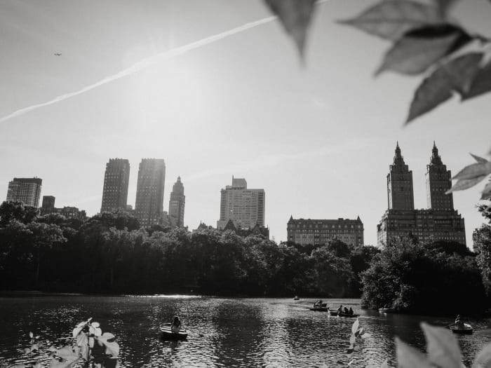 Edificio Dakota y skyline del Upper West Side desde Central Park | ©Malvina Battiston