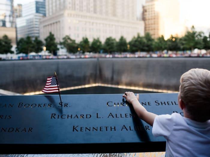 Detalle del Memorial del 11 de Septiembre | ©Malvina Battiston
