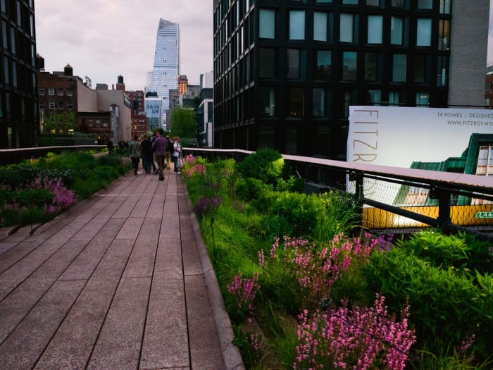 Un tramo de la High Line | ©Malvina Battiston