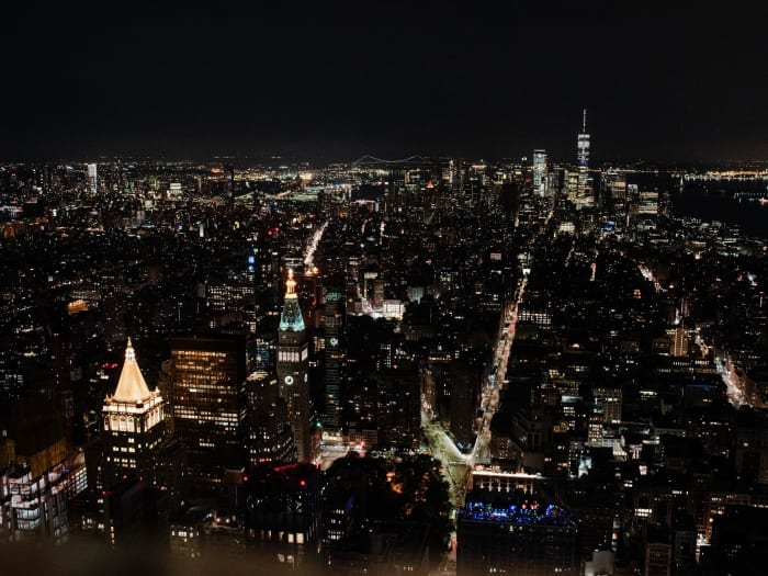 Vistas desde el Empire State de noche | ©Malvina Battiston