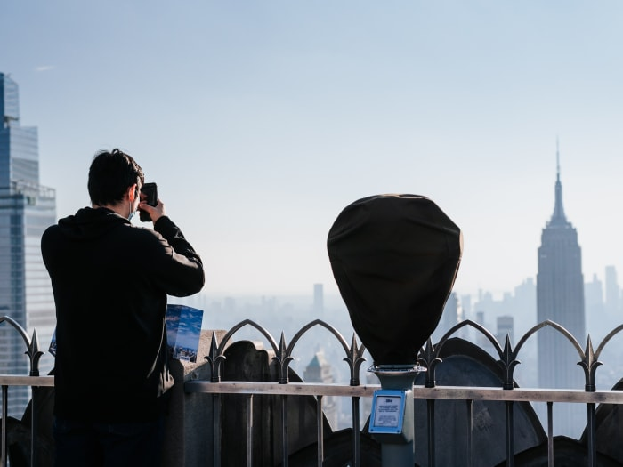El observatorio descubierto del Top of the Rock New York | ©Malvina Battiston