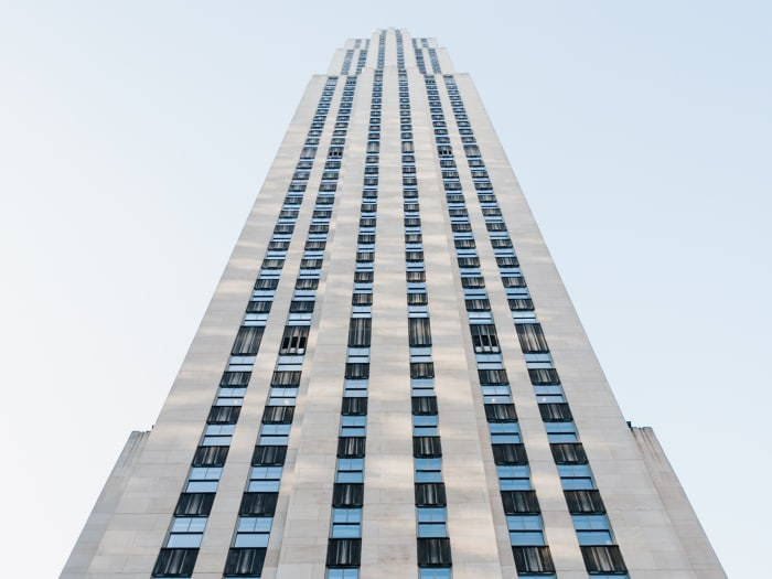 Vistas del Rockefeller Center antes de subir | ©Malvina Battiston
