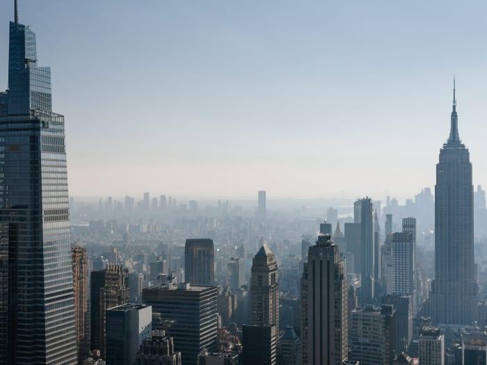 Vistas desde el Top of the Rock del sur de Manhattan | ©Malvina Battiston