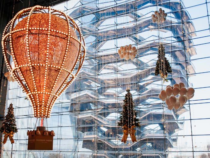 Vistas de The Vessel desde el centro Comercial The Shops | ©Malvina Battiston
