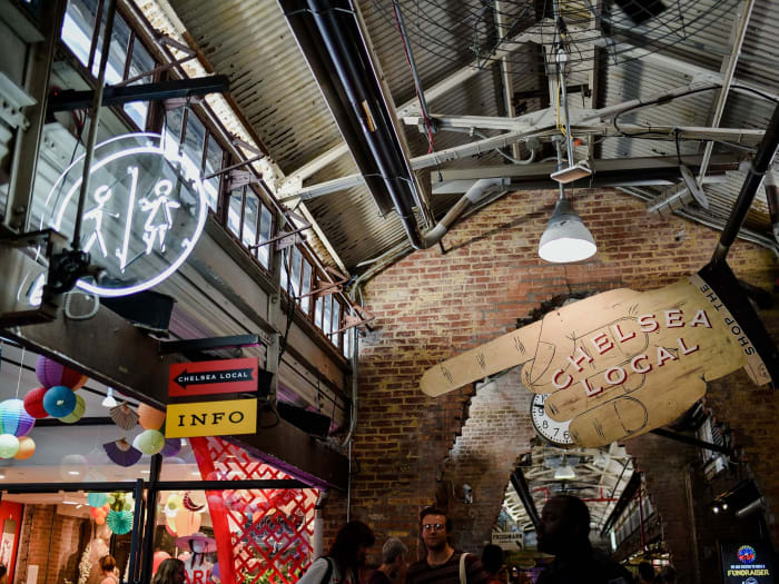 Chelsea Market | ©Malvina Battiston