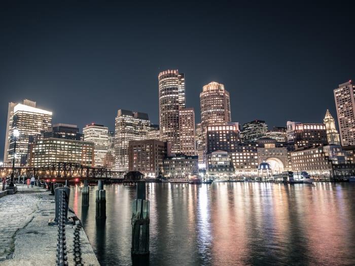 Skyline del Downtown de Boston | ©Lance Anderson