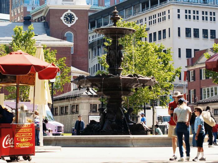 Paseando por el centro de Boston | ©Audrey Odom