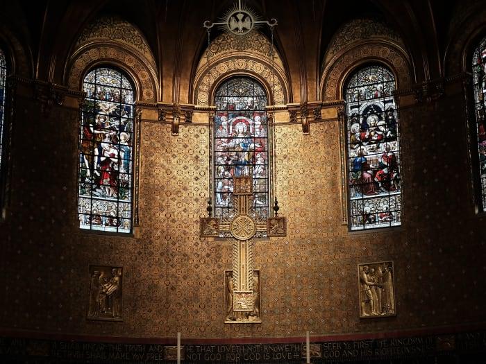 El interior de Trinity Church | ©Audrey Odom