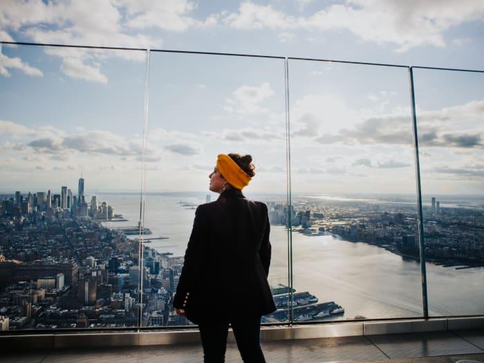 Vistas desde el mirador acristalado de The Edge | ©Malvina Battiston