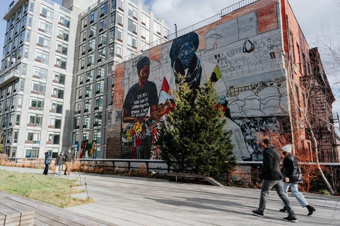 Paseando por High Line | ©Malvina Battiston