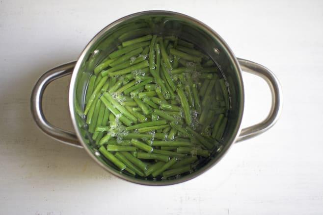 Boil green beans