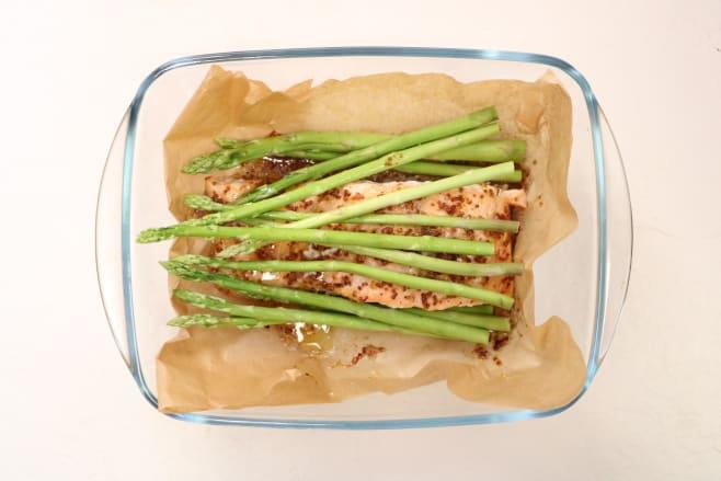 Add asparagus