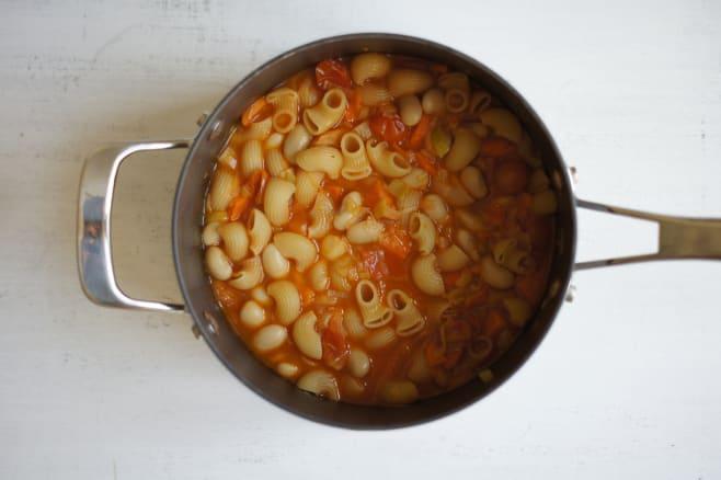 Make minestrone