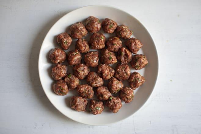 Make meatballs