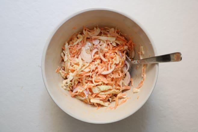Make coleslaw