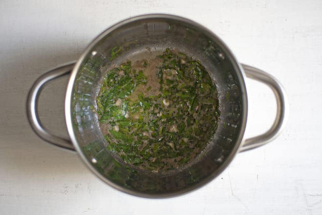 Make anchovy butter