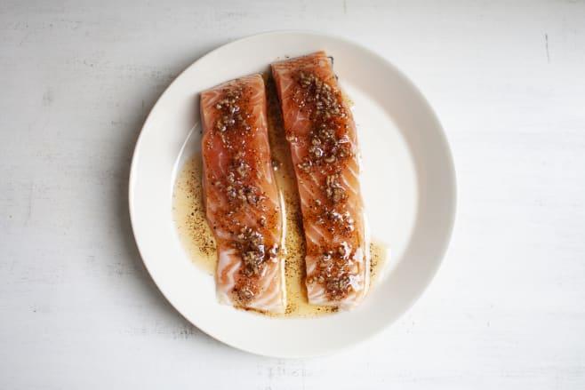 Prep salmon