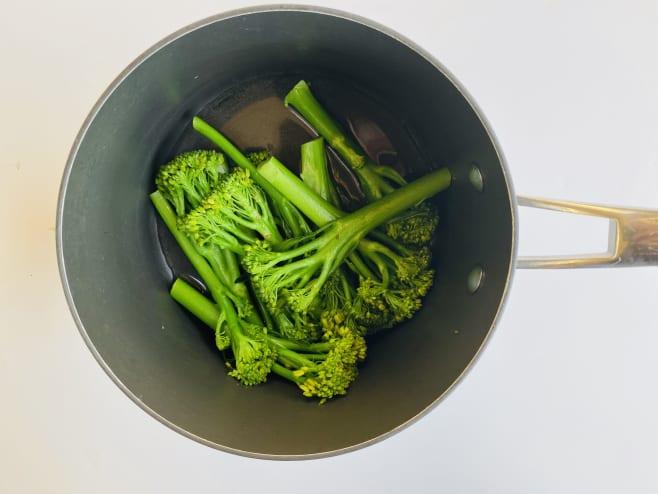 Boil broccoli