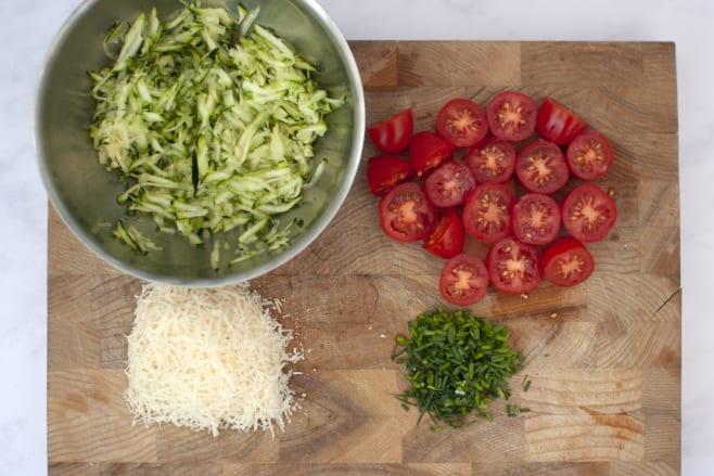 Prep ingredients