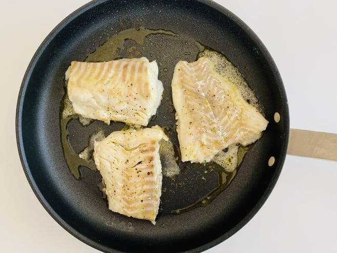 Fry cod