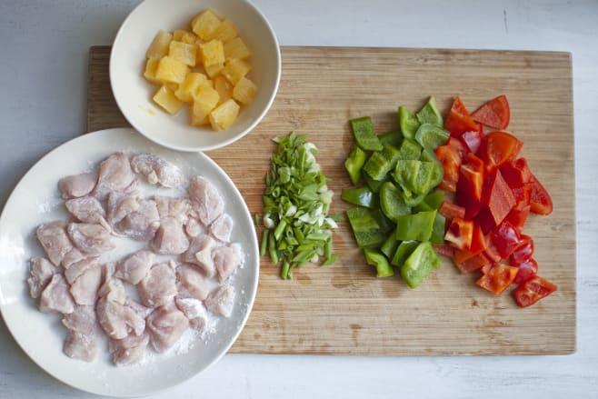 Prep stir-fry