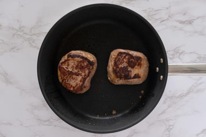 Fry steak