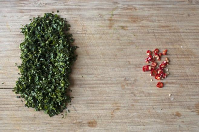 Prep herbs