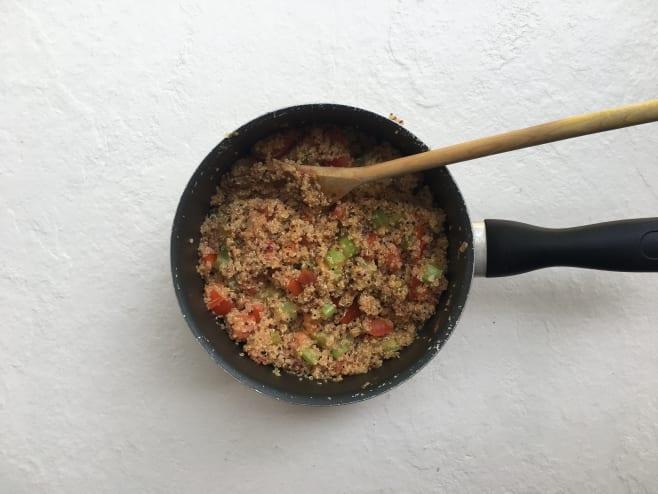 Finish quinoa