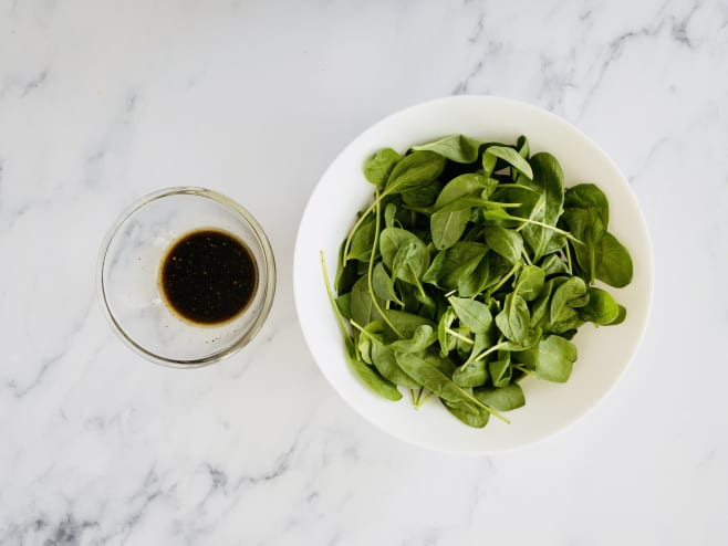 Make side salad