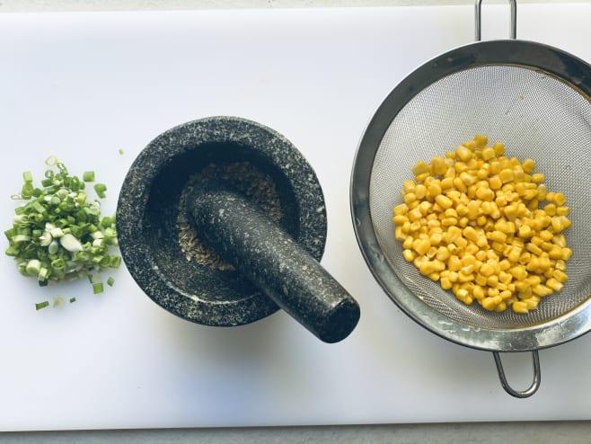 Grind coriander
